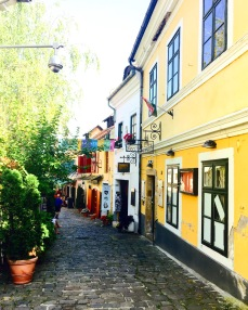 Beautiful street in Szentendre